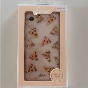 NIB Sonix iPhone XR Clear Coat Pizza 🍕 Case